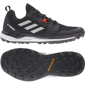 adidas TERREX Agravic Trail Running Shoes Women core black/grey four/solar red